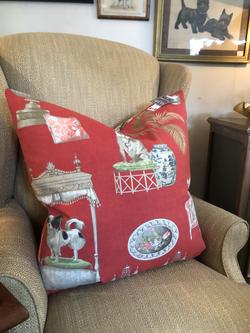 Whimsical Feather Cushion