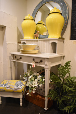 Small Painted Vintage Desk
