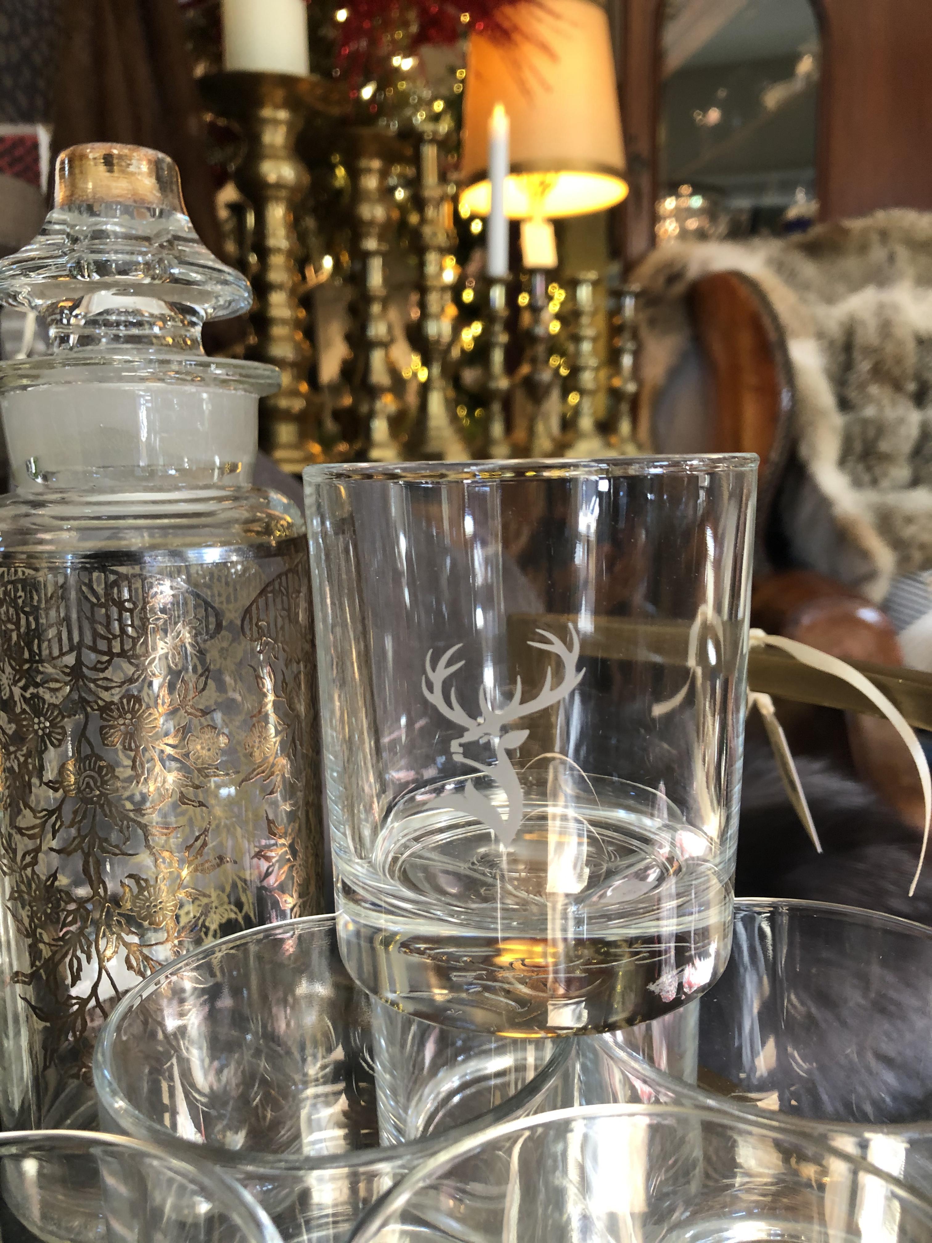 Glenfiddich Scotch Glasses