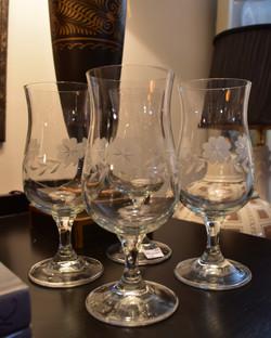 Set of 4 Vintage Juice Glasses