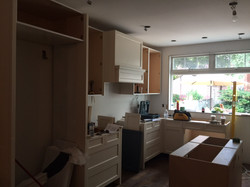Contruction -Kitchen Install