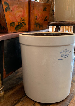Vintage 5 Liter Stoneware Crock
