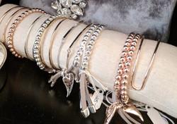 Assorted Stackable Bracelets