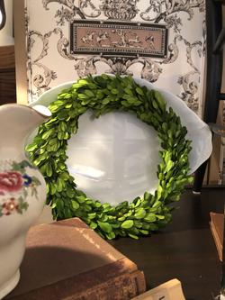 "Boxwood Wreath 10"""