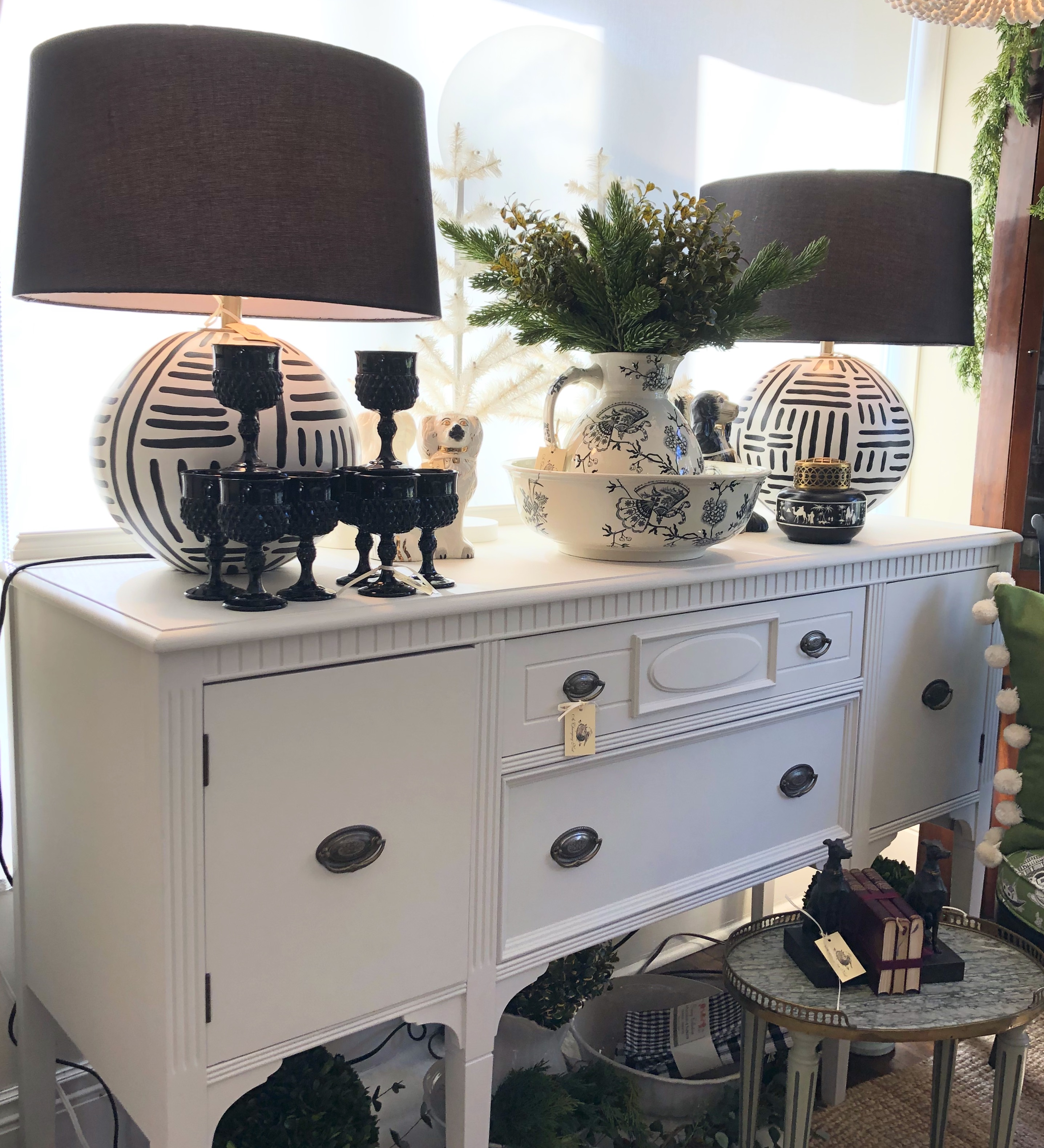 Painted Vintage Sideboard