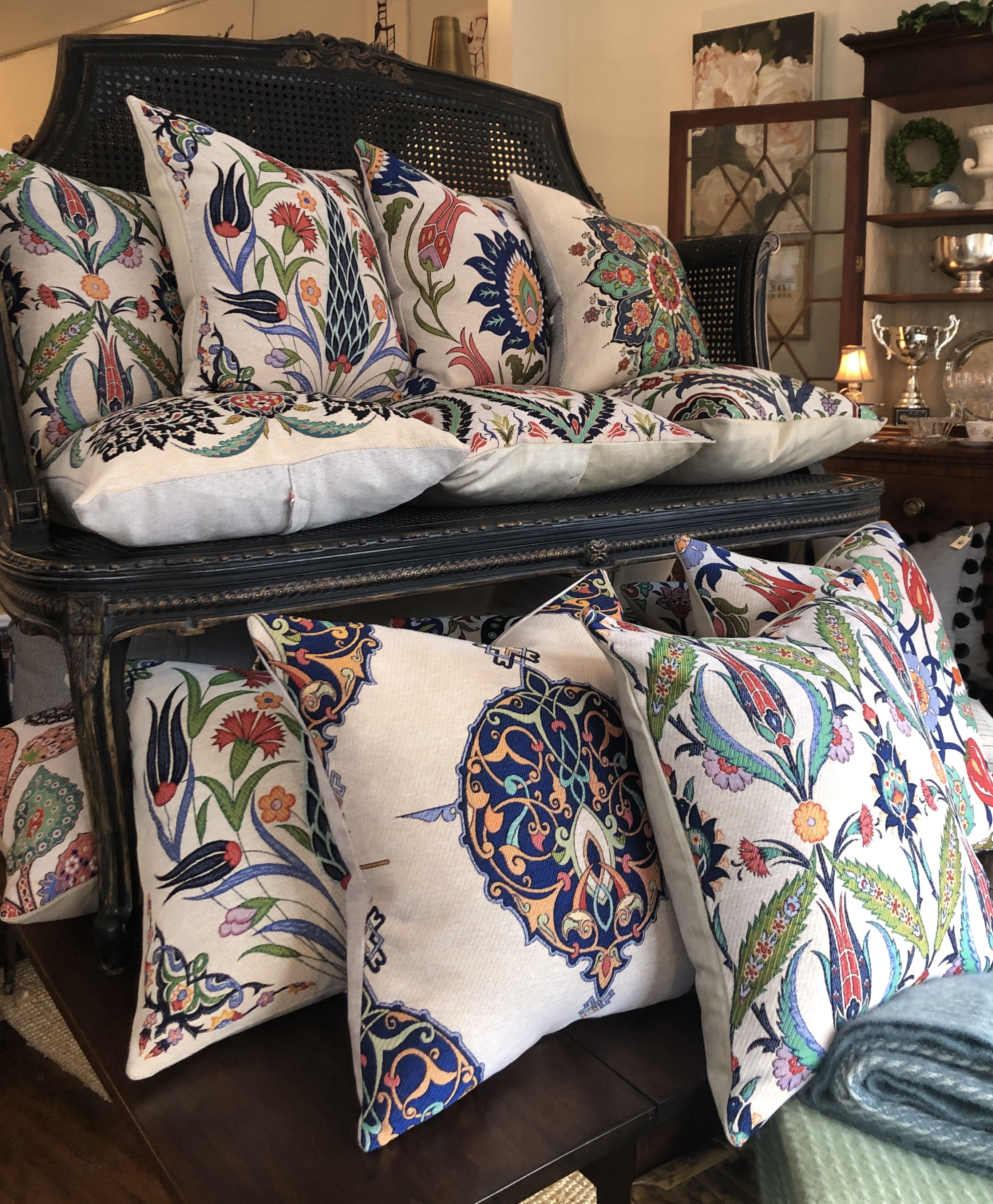 Cotton Floral Cushions