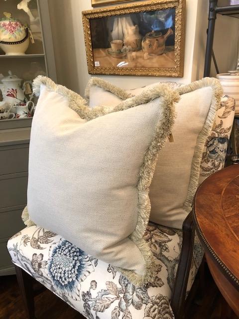 Custom Design Cushions - Cream