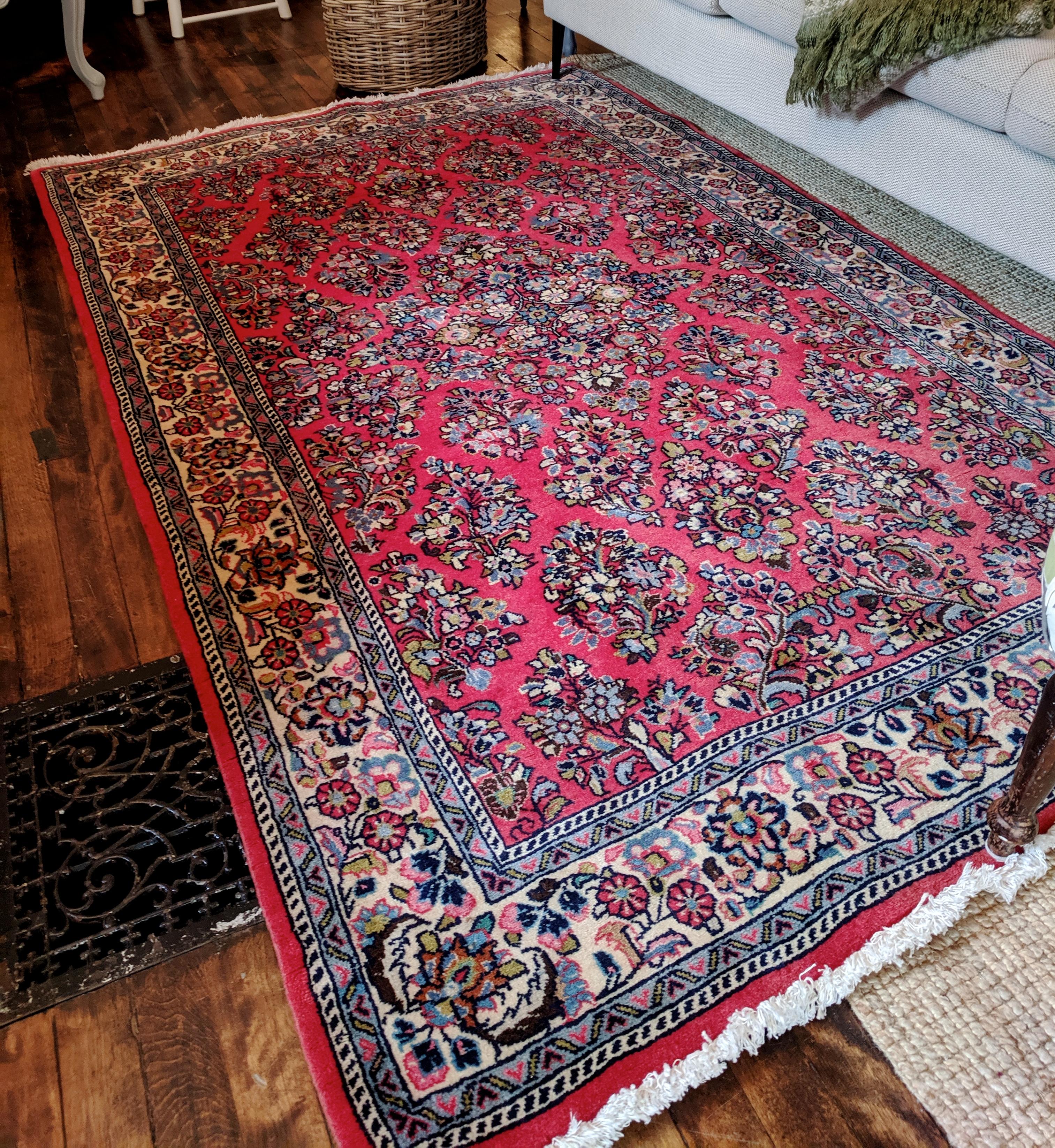 Vintage Wool Persian Rug