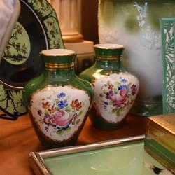 Vintage Birks Porcelain Vases