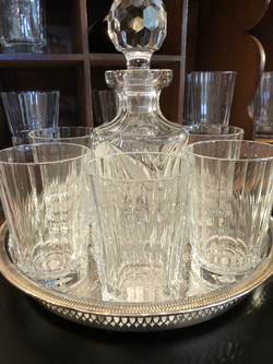 Crystal Glasses From France