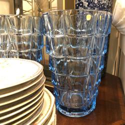 Vintage Bohemian Crystal Vases