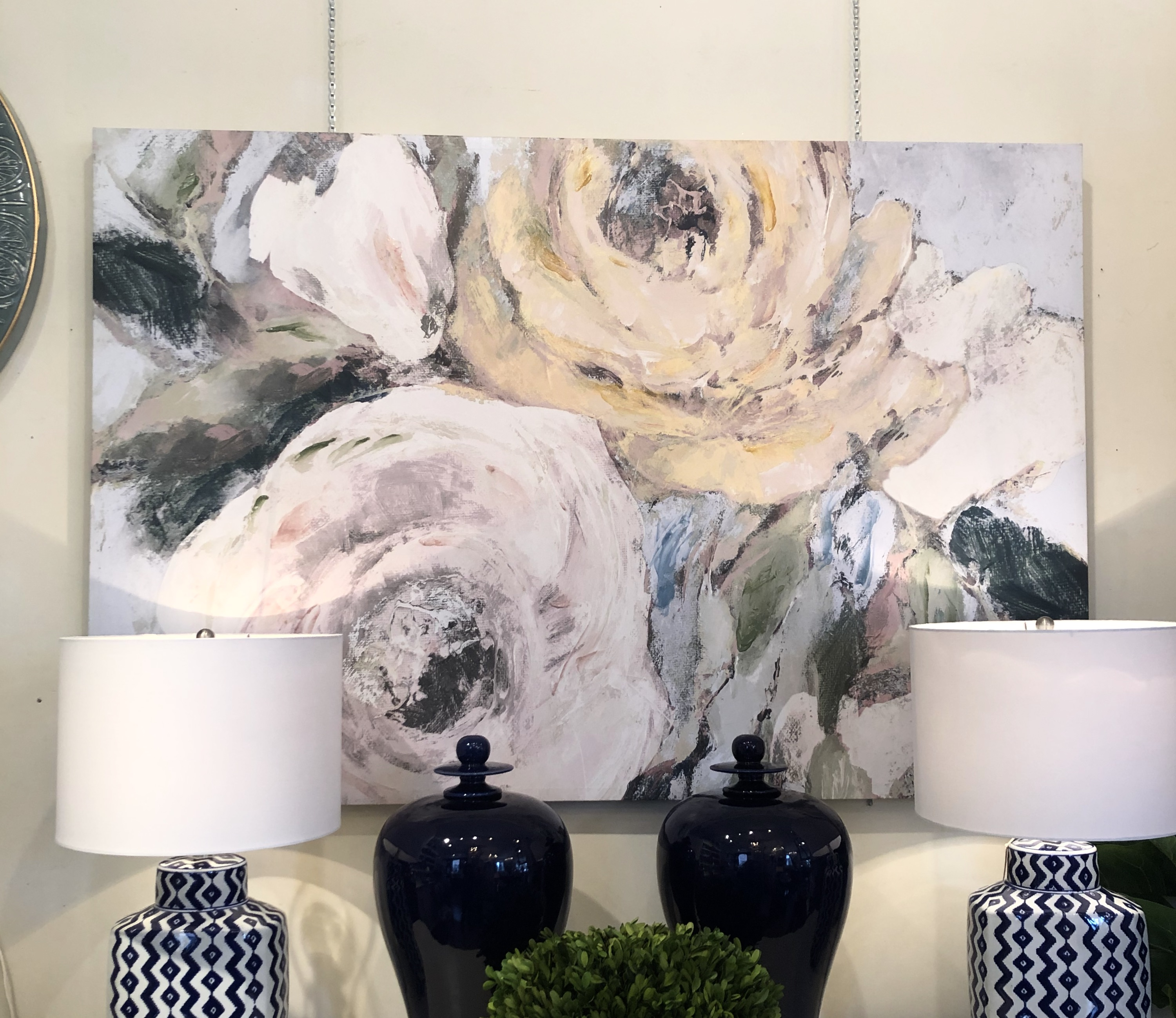 Large Floral Giclee