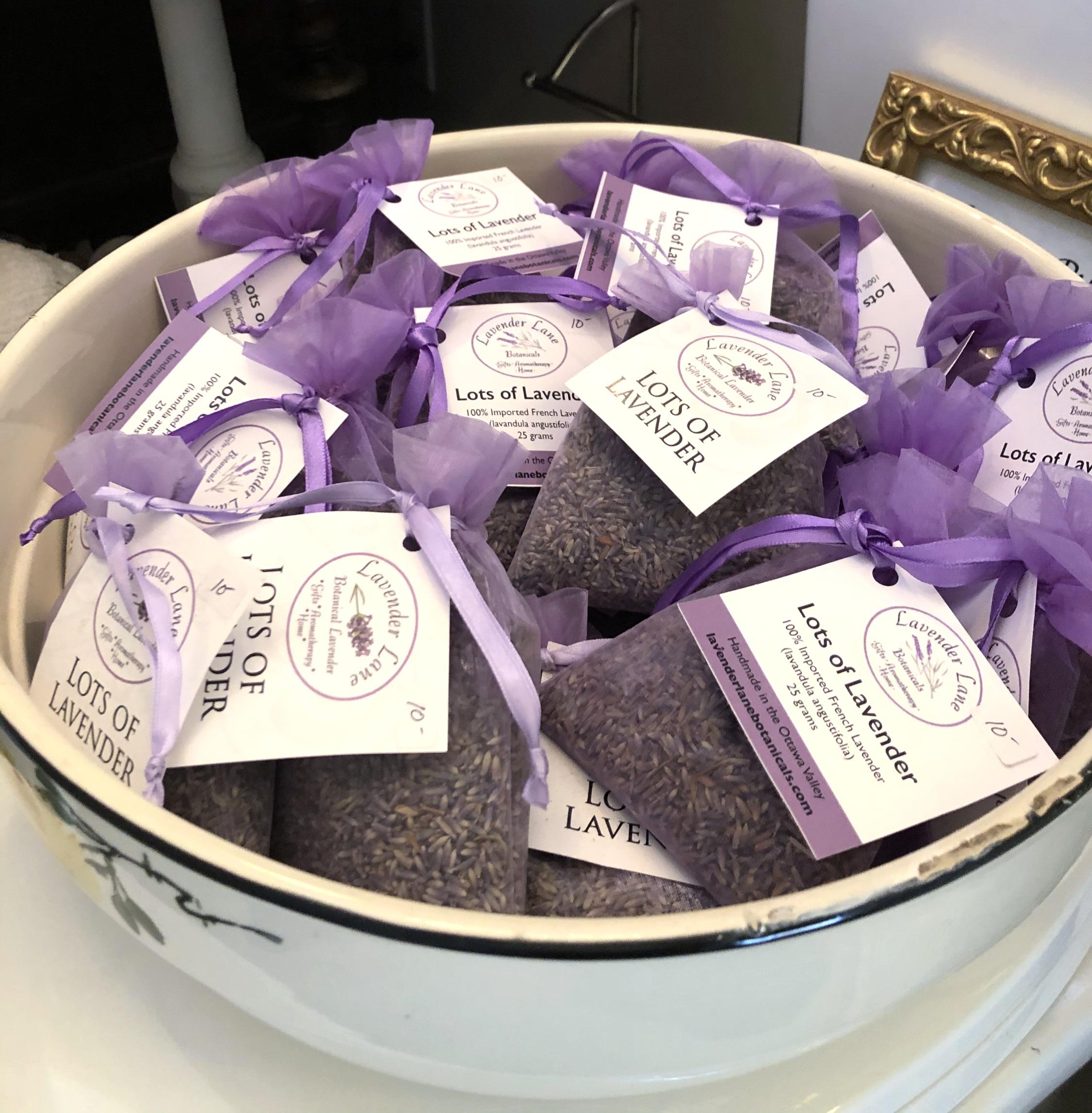 Loose Lavender Sachets