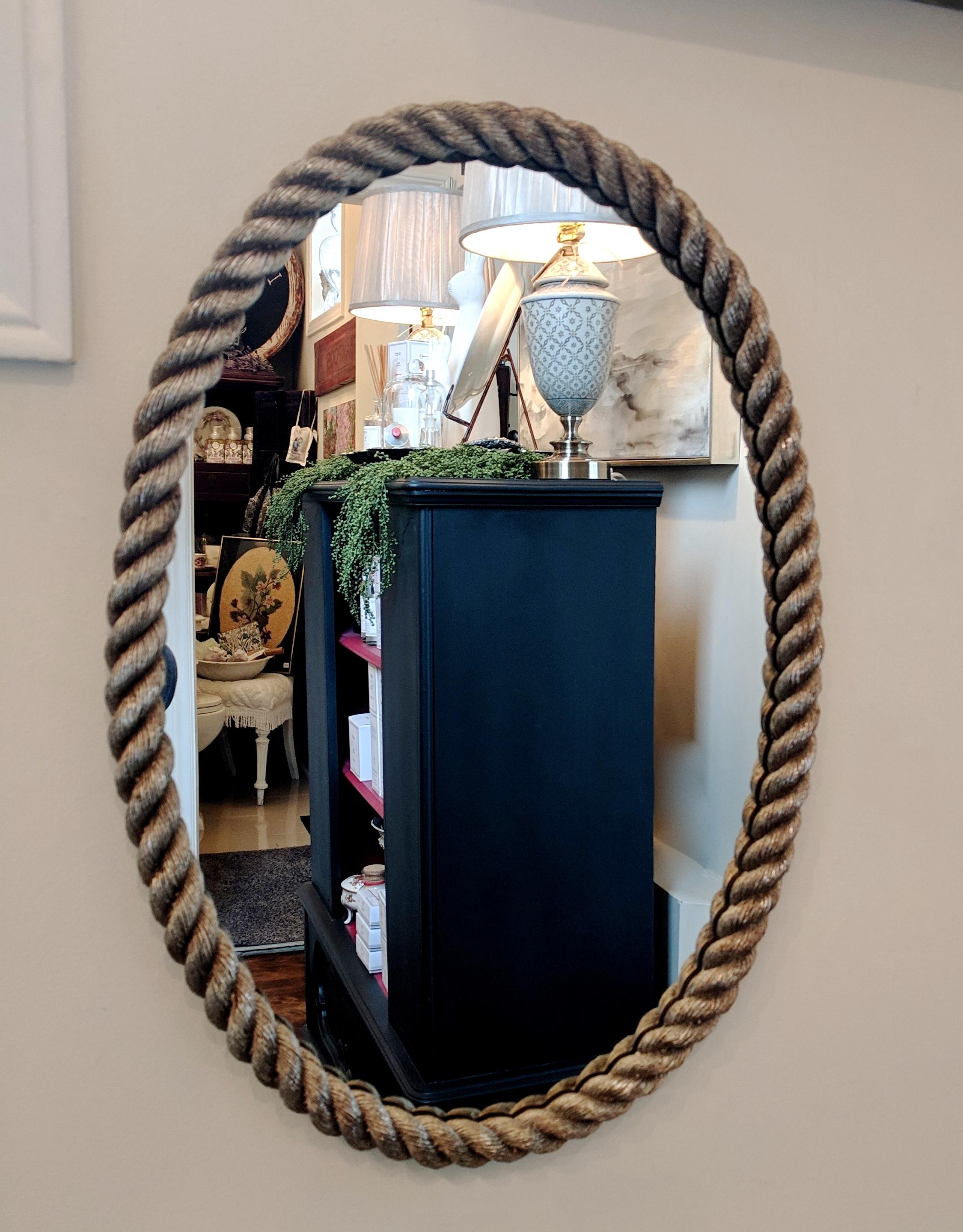 Metal Rope Mirror