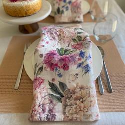Set of Premium European Linen Napkin