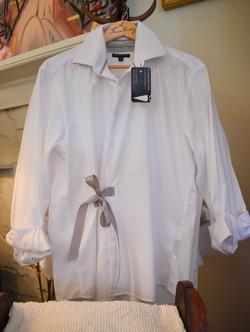 Limited Edition Boyfriend shirt w/ Grey