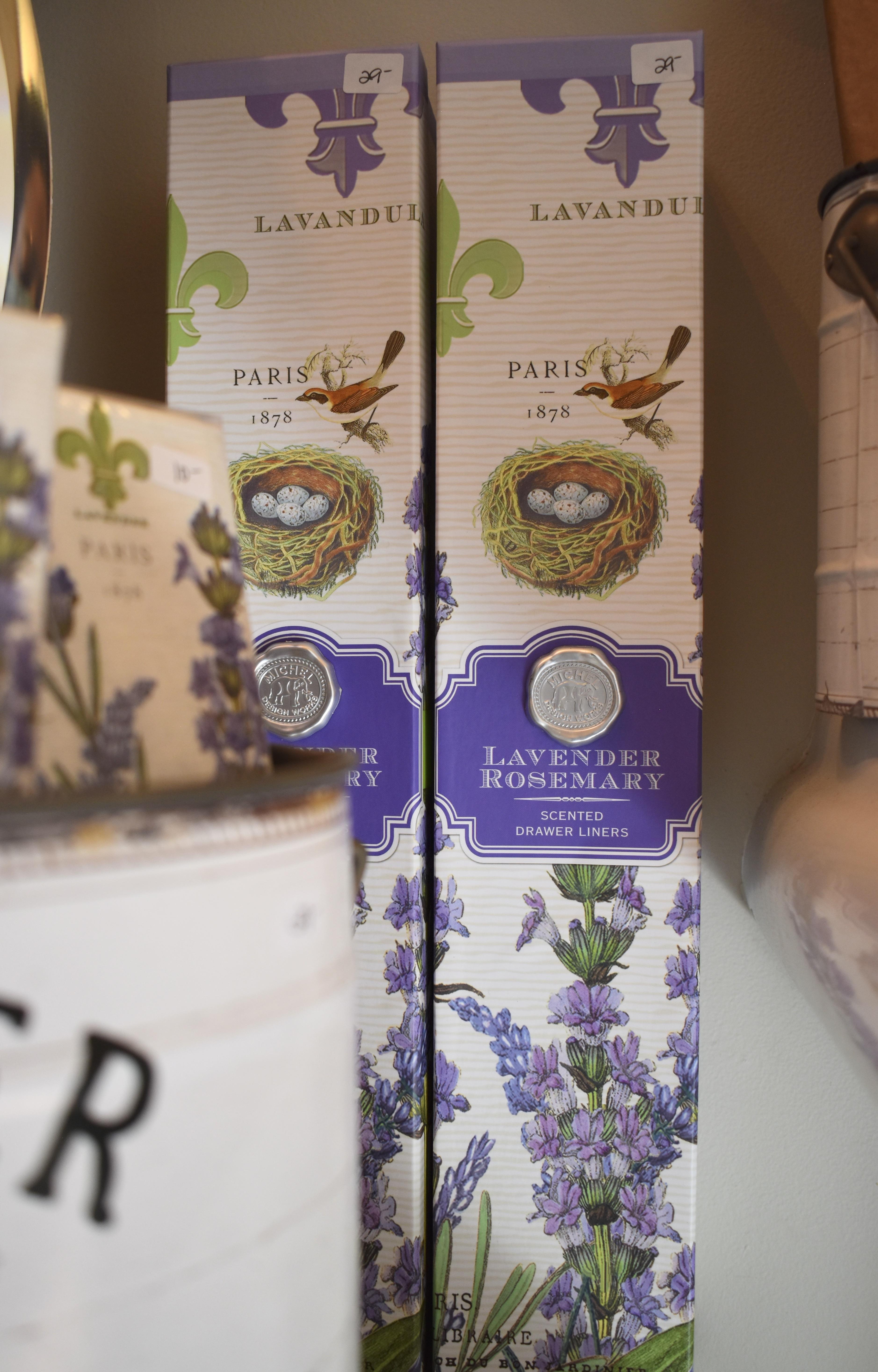 Lavender Drawer Liners