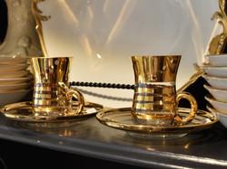 Vintage Demi-Tasse  Cups and Saucers