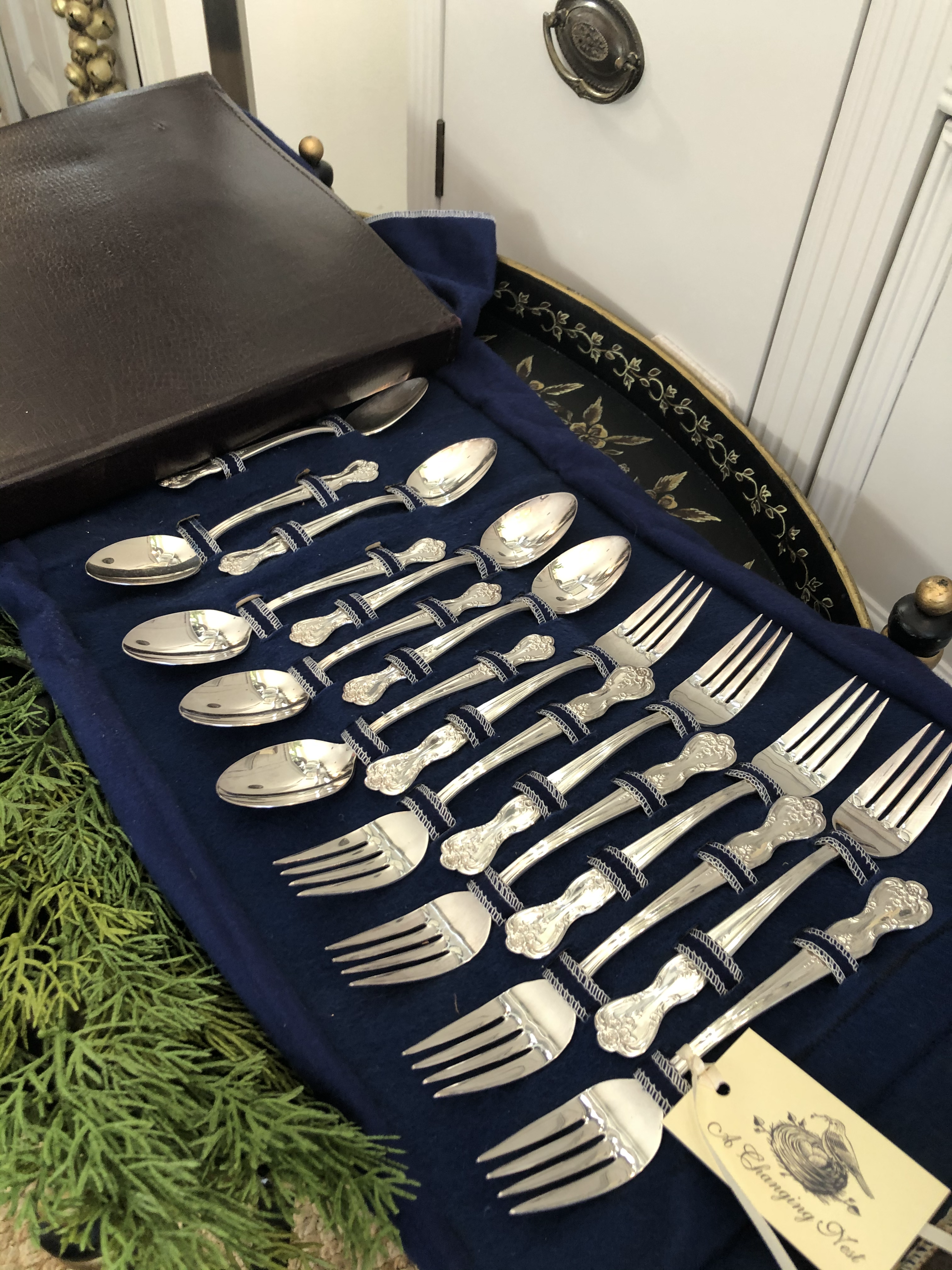 Silver Plate Cutlery Set
