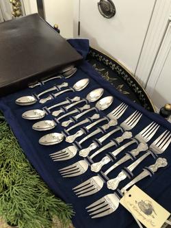 Silver Plate Cutlery Set