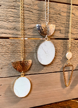 Gold and Silver Plated Necklaces