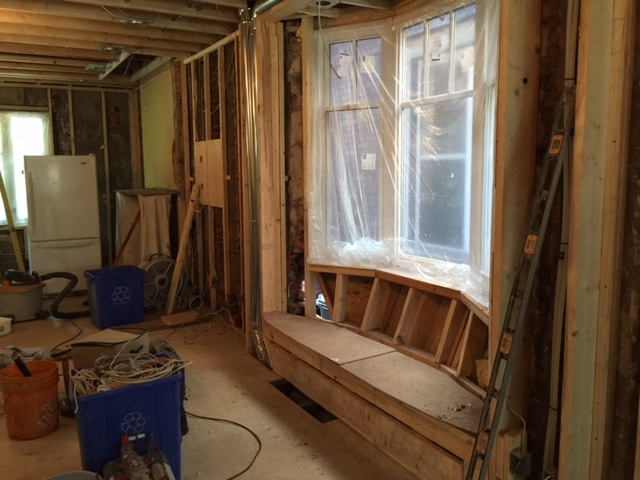 Construction - Living & Dining
