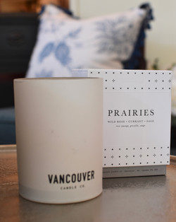 Vancouver Candle Company - Prairies