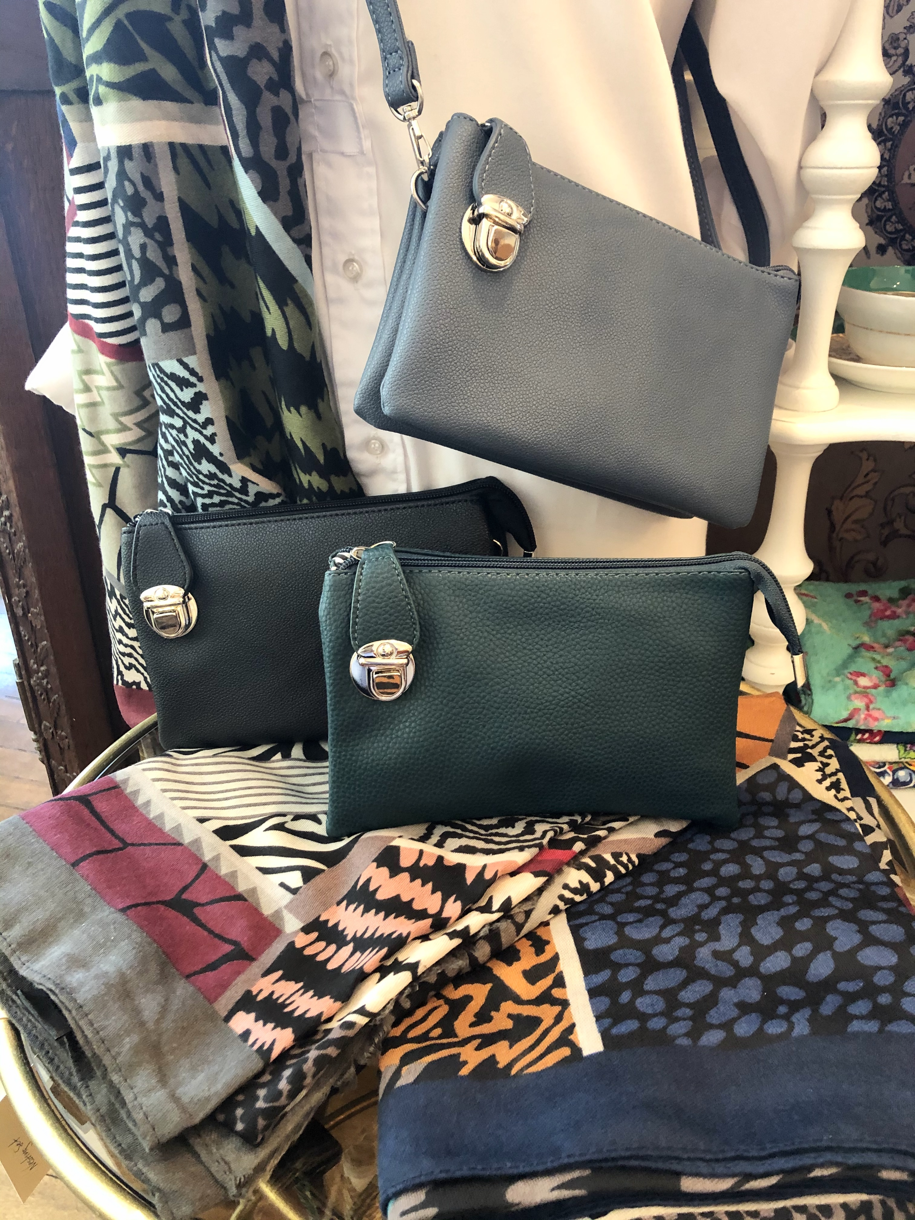 Purses and Fall Scarves