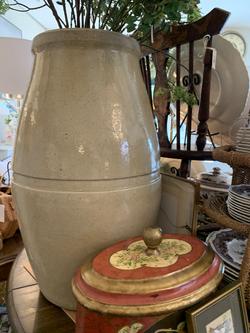Oversized Stoneware Crock