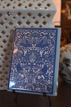 William Morris Bird Tapestry Laser Cut- Blank