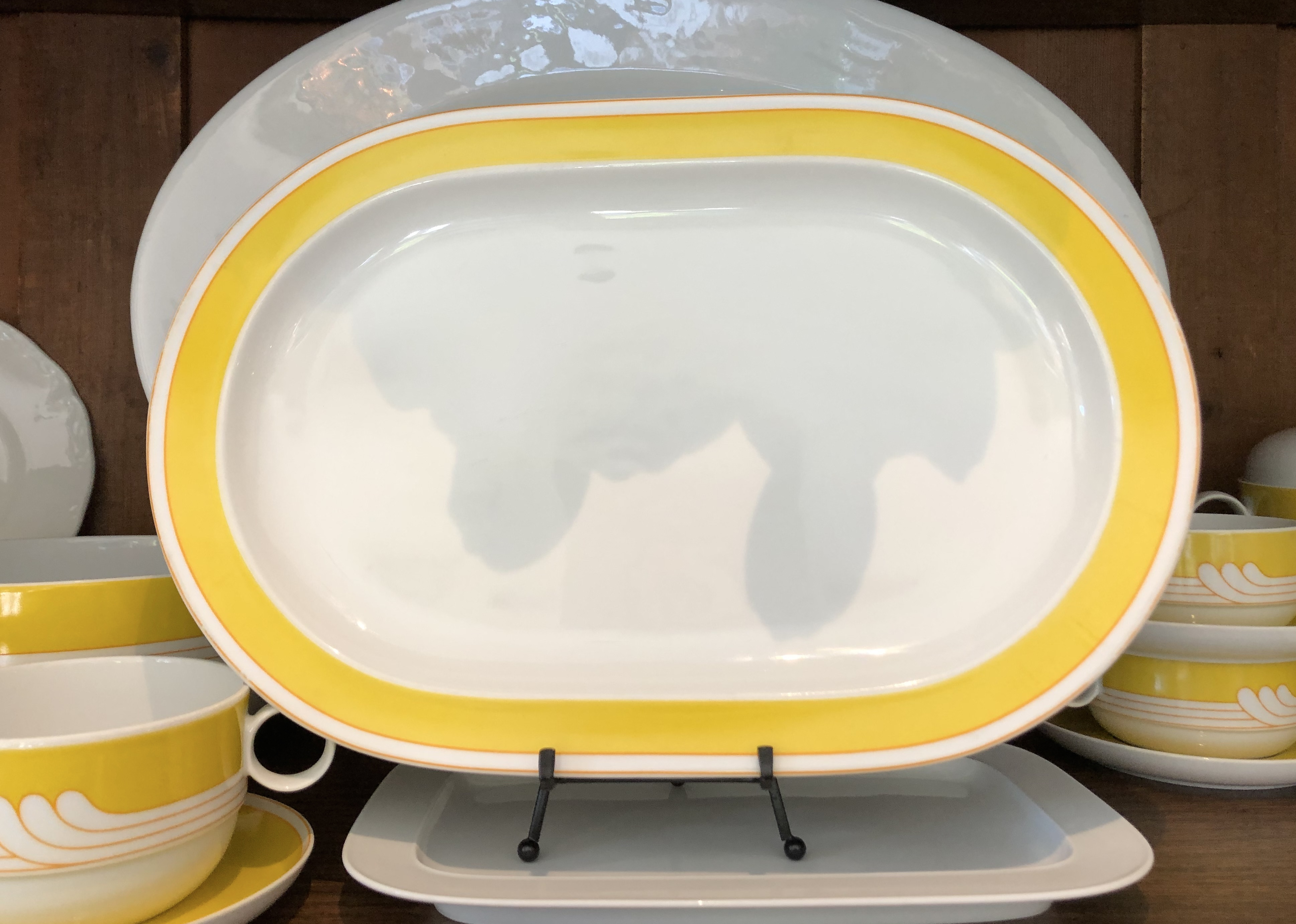 Rosenthal Exotic Yellow Platter