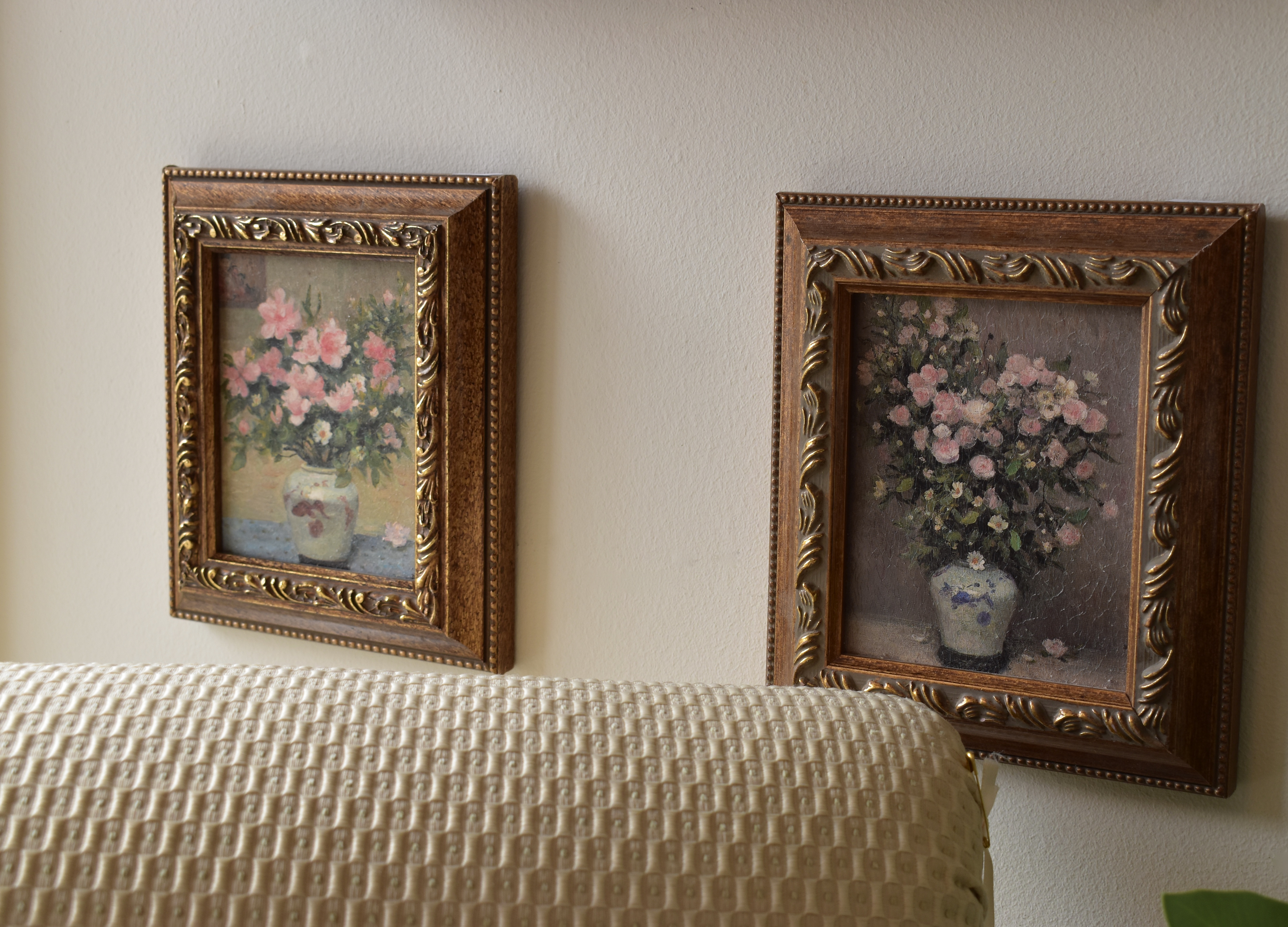 Small Handpainted Florals in Oil