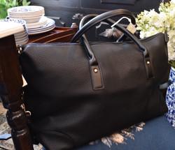 Vegan Leather Travel Bag
