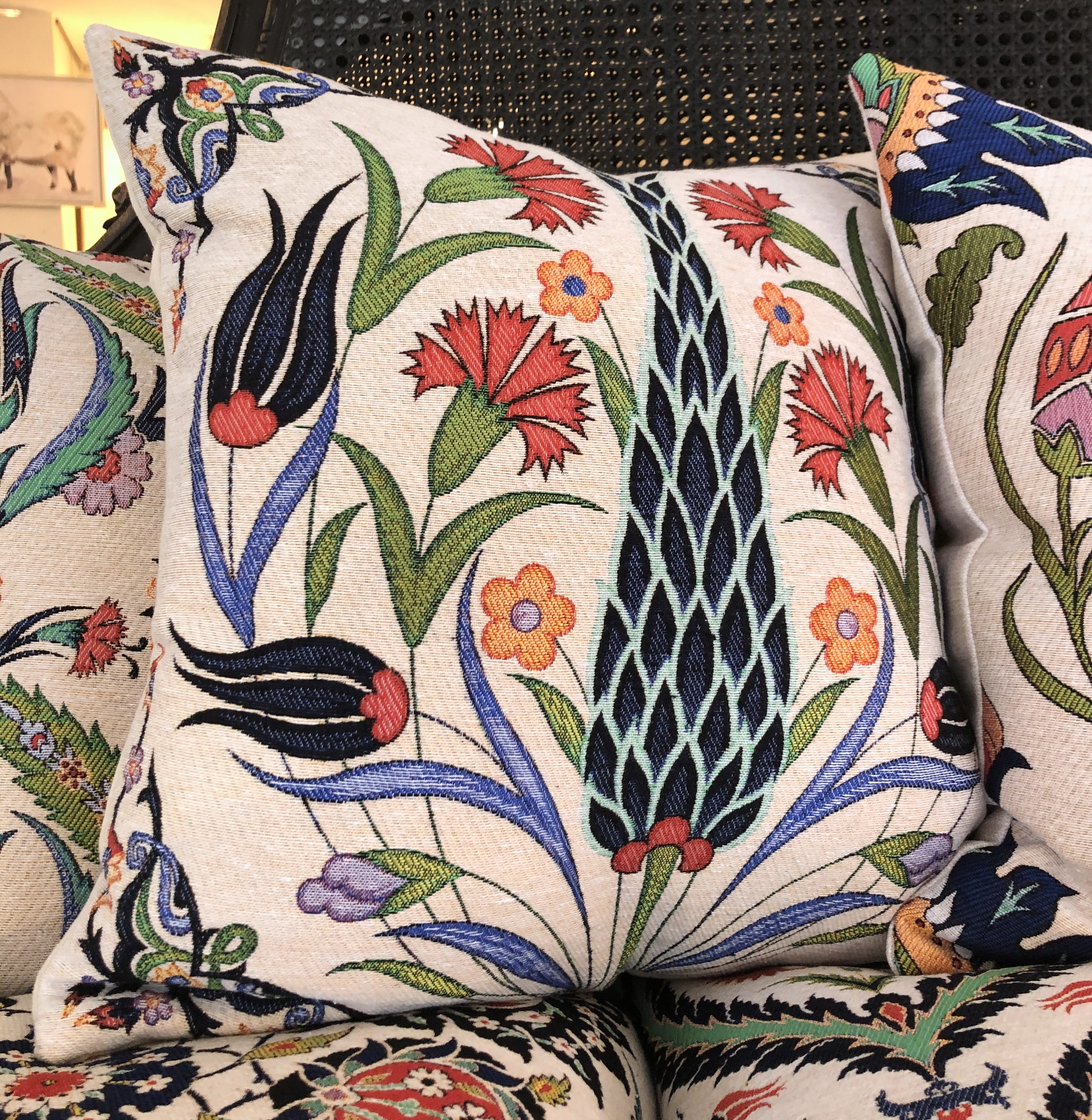Thistle - Cotton Floral Cushions