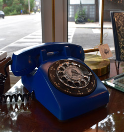 1960s Cobalt Northern Electric Dial Telephone