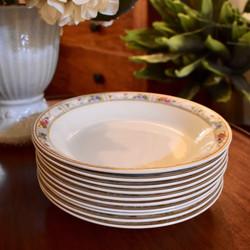 Grindley Handpainted Soup Plates