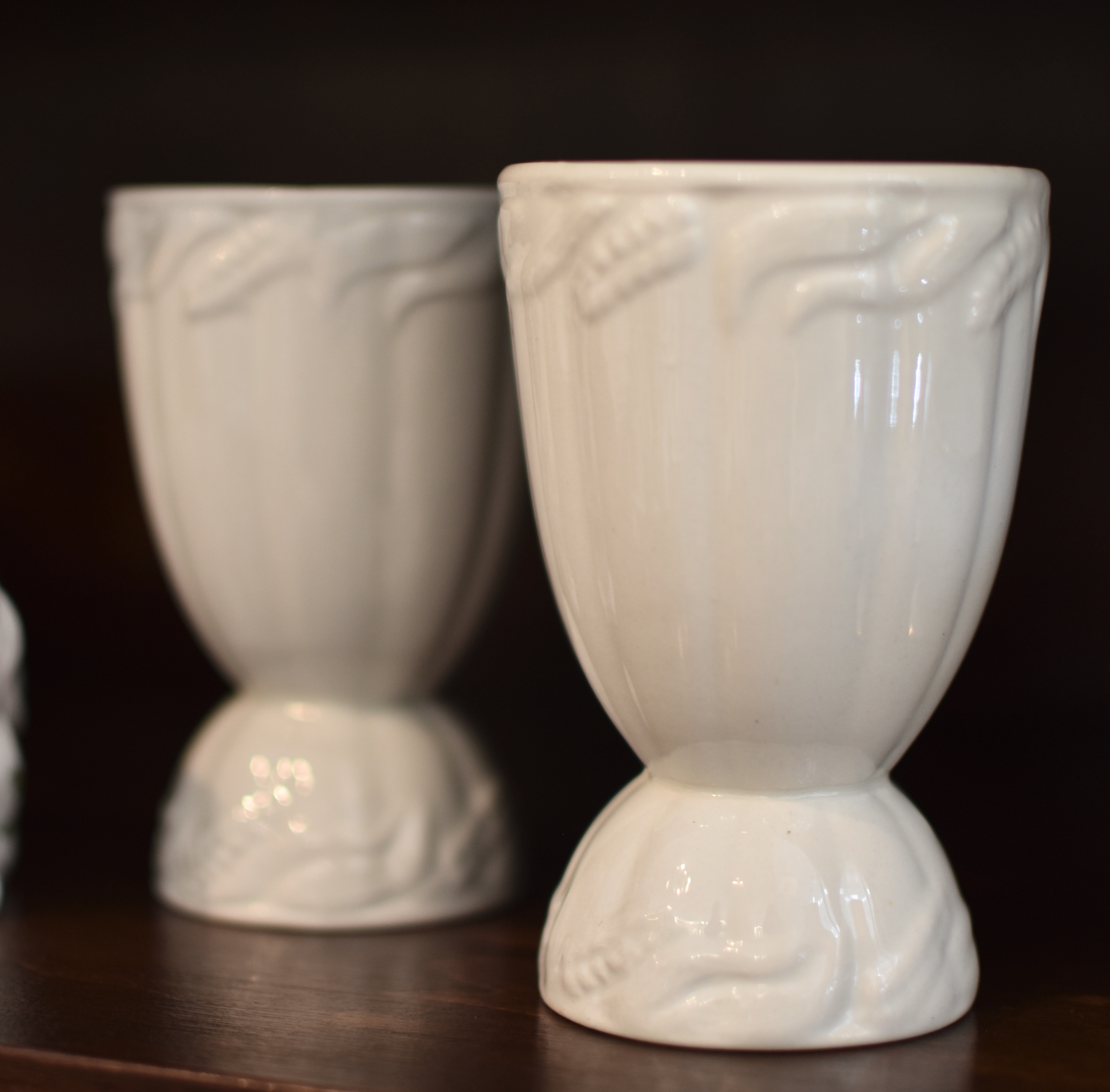 Vintage Ironstone Egg Cups