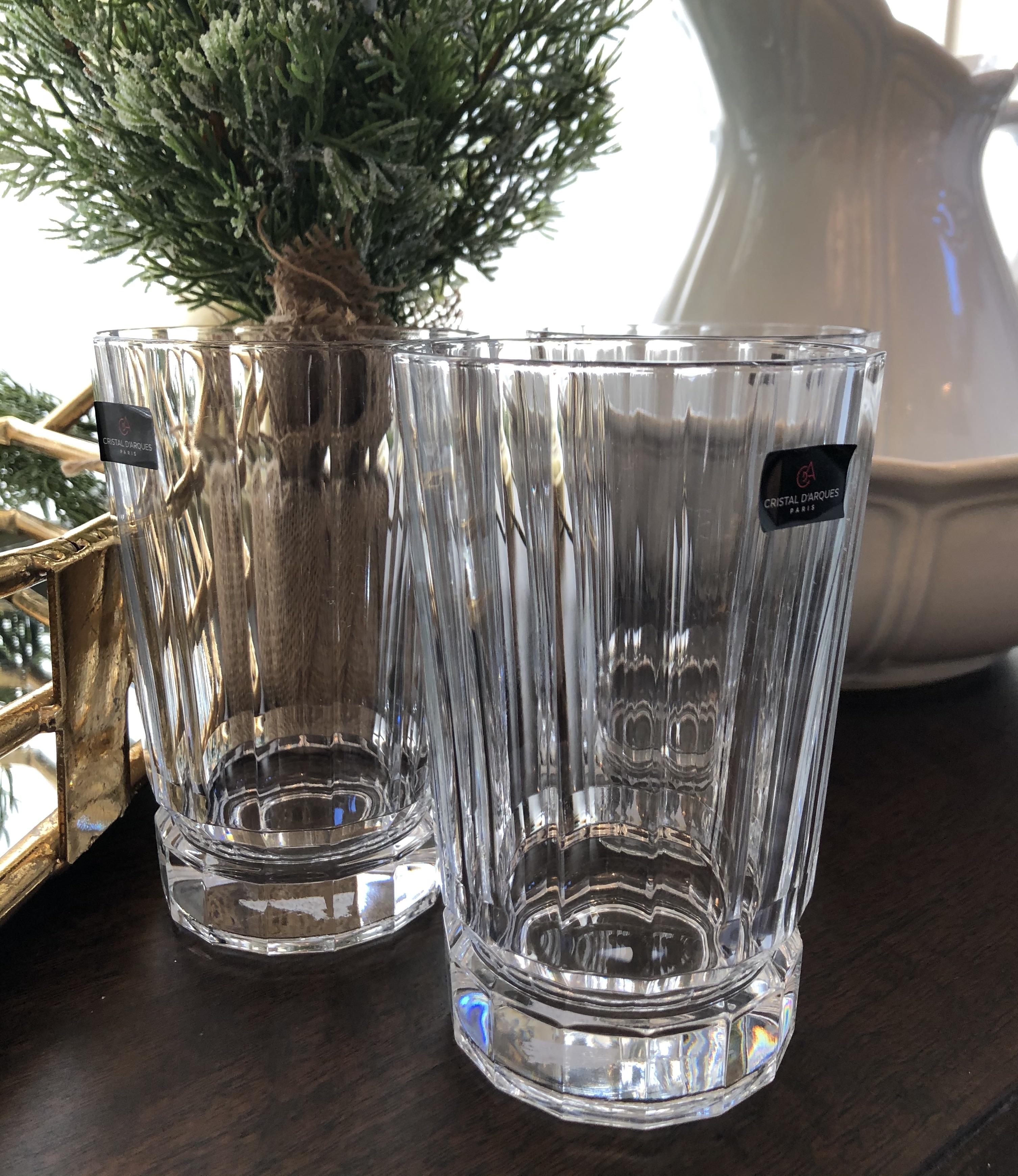 Crystal Drink Glasses
