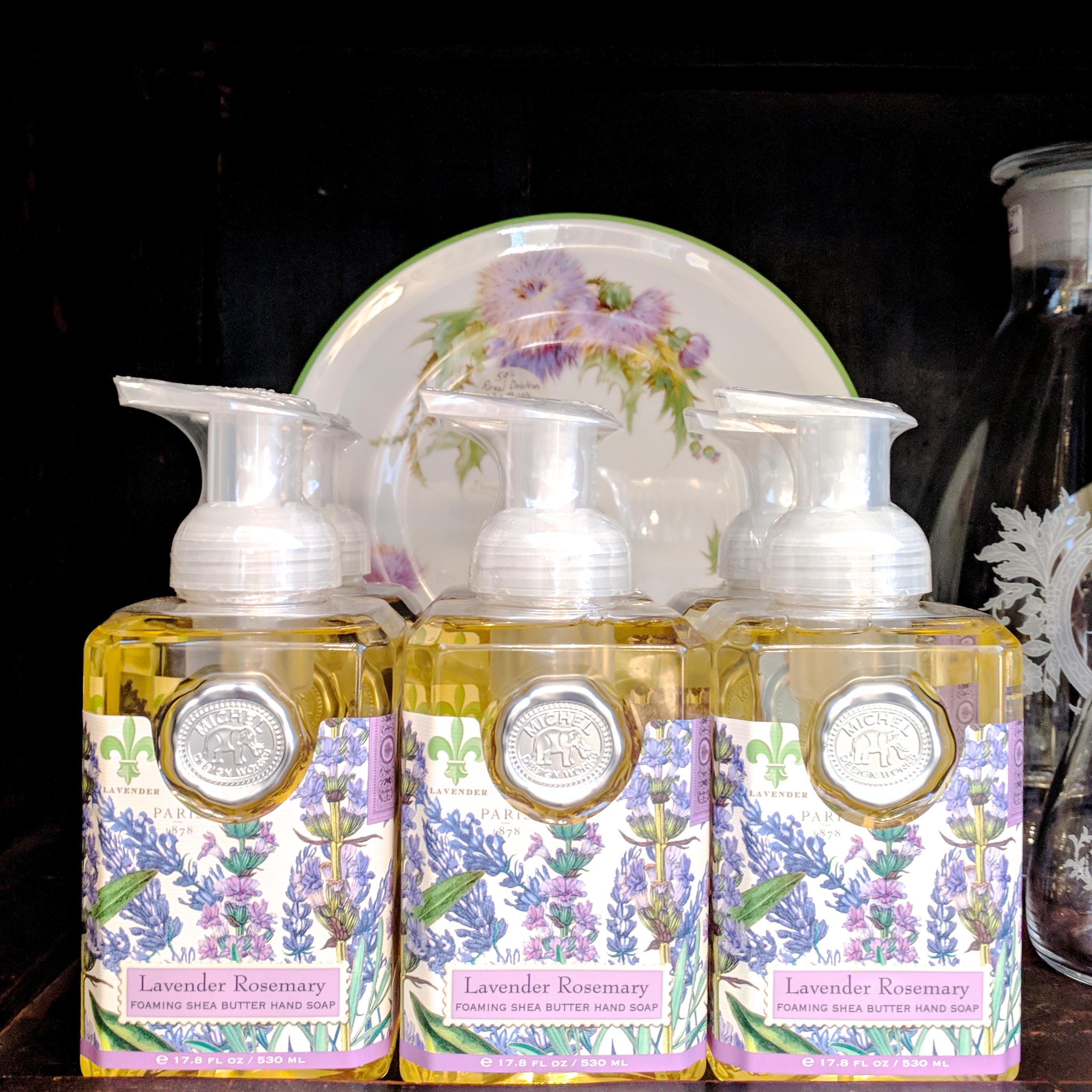 Lavender & Rosemary Foaming Soap