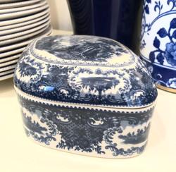 Ceramic Transferware Box