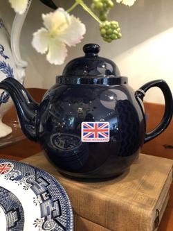 Cobalt Betty Teapot