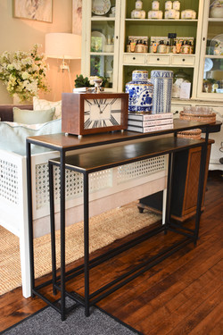 Single Stacking Console Tables