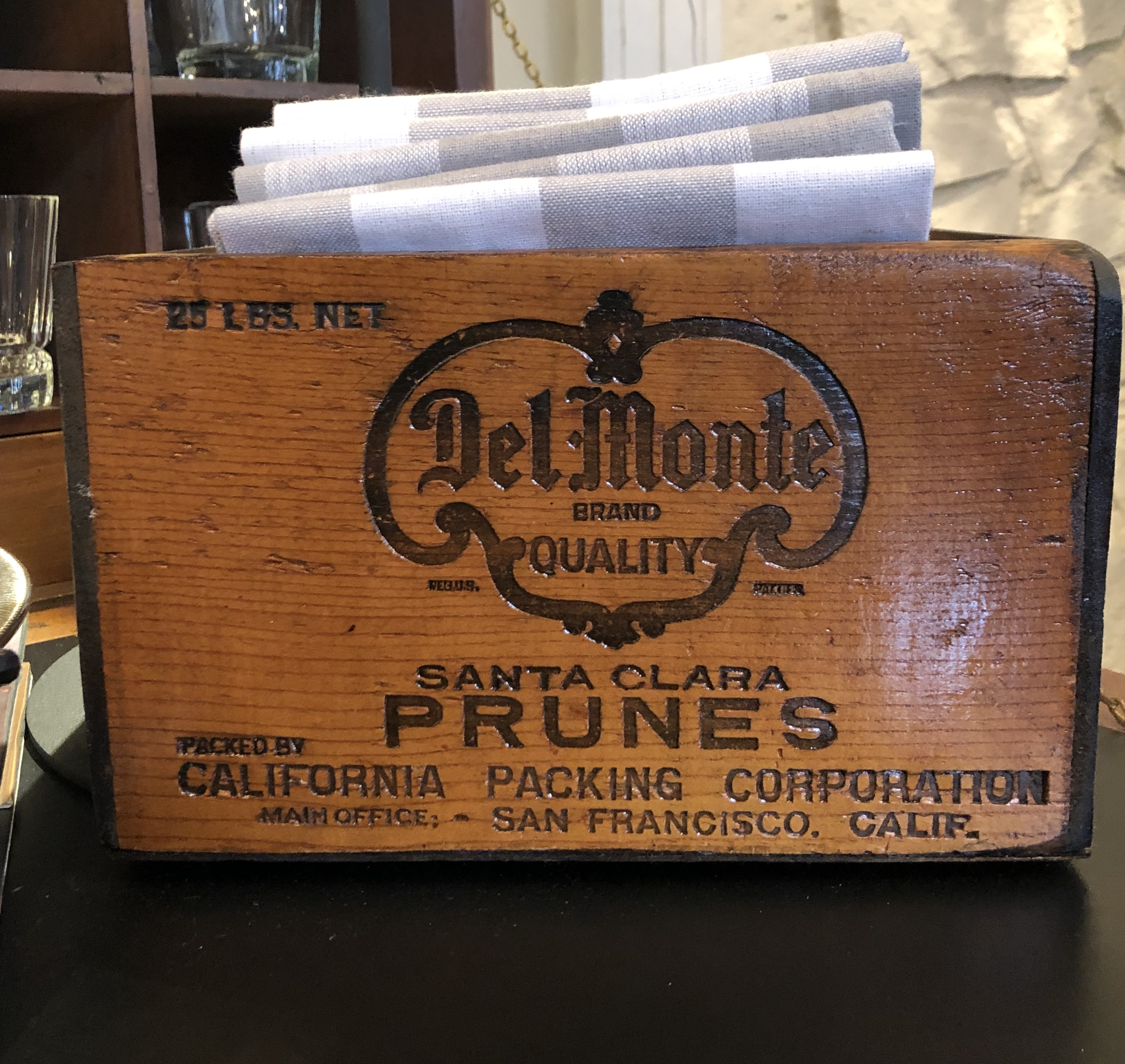 Small Vintage Wooden Box
