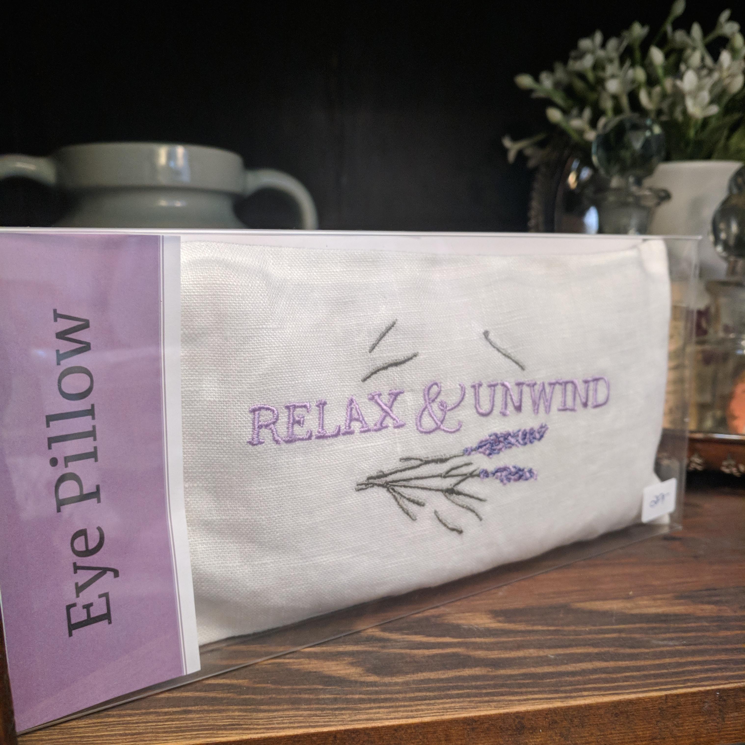 Lavender Eye Pillow & Yoga Pillows