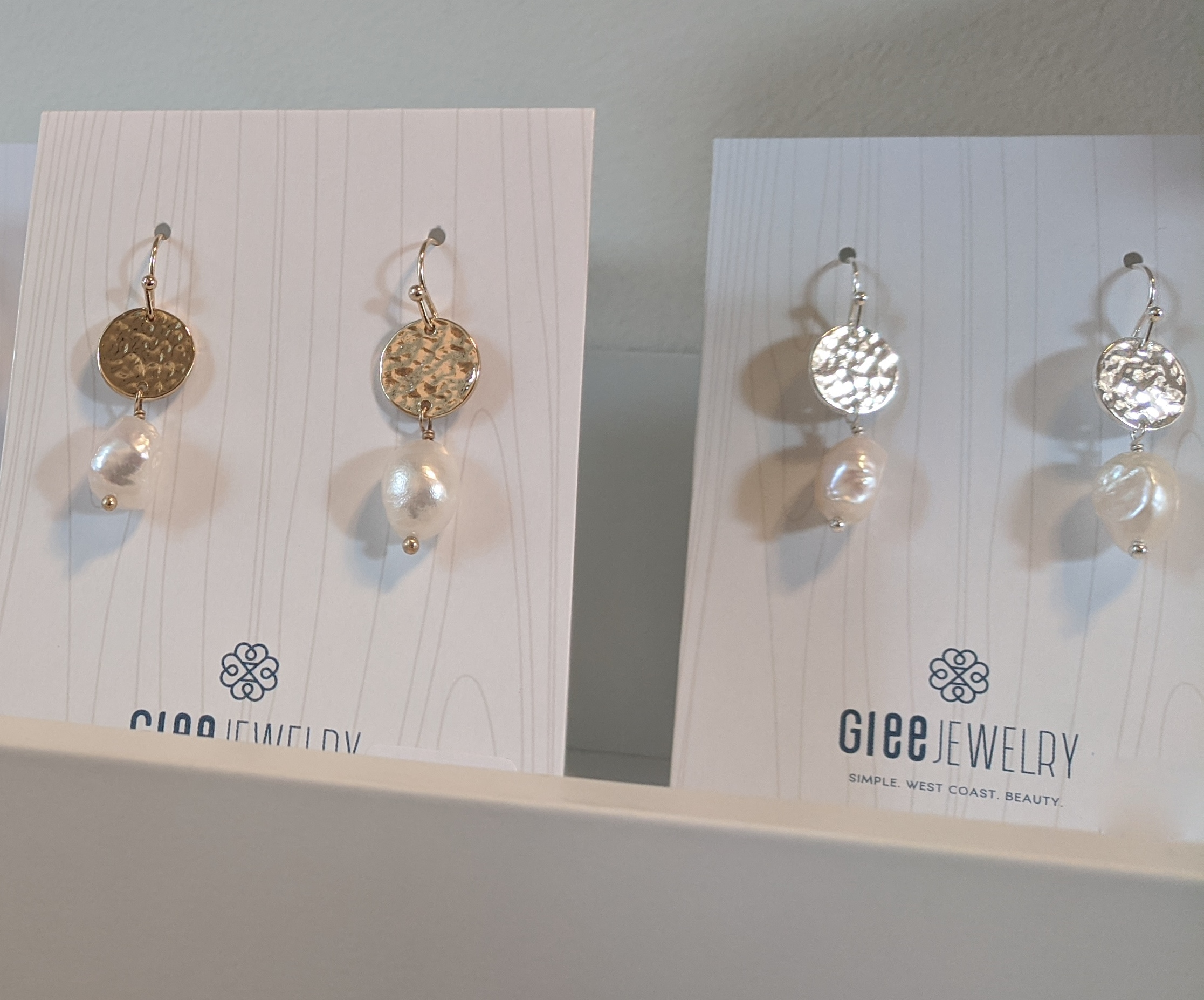 Gold & Silver Plated Earrings by Glee