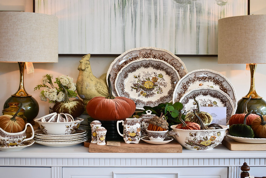 Masons Dinnerware and Serving Pieces