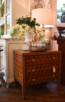 Maitland Smith Marquetry Wood Chest
