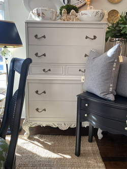 Painted Vintage Dresser