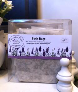 Lavender Bath Bags