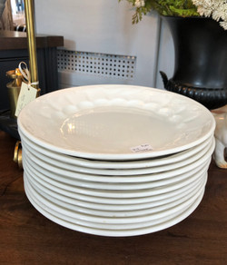 Set of 12 Vintage Ironstone Plates